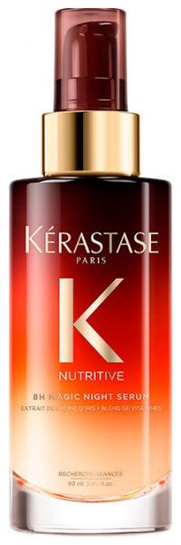 Serum leave-in pentru toate tipurile de par Kerastase Nutritive 8H Magic Night Serum, 90 m 0