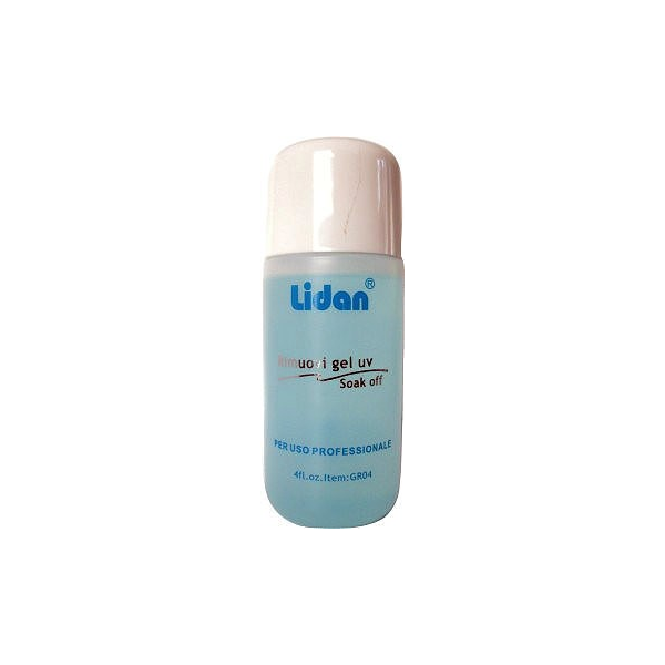 Solutie indepartare gel si oja semipermanenta Remover Gel & Soak Off Lidan 1