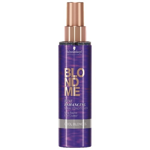 Spray balsam pentru par blond rece Schwarzkopf Blonde Me Enhancing Cool Blondes Spray, 150 ml 0