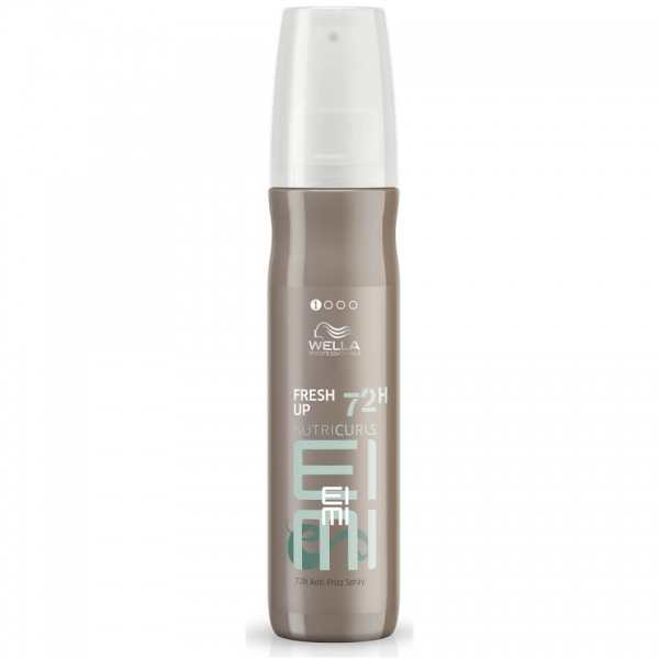 Spray cu efect anti-static 72H Wella Professionals EIMI Nutricurls Fresh Up, 150 ml 0