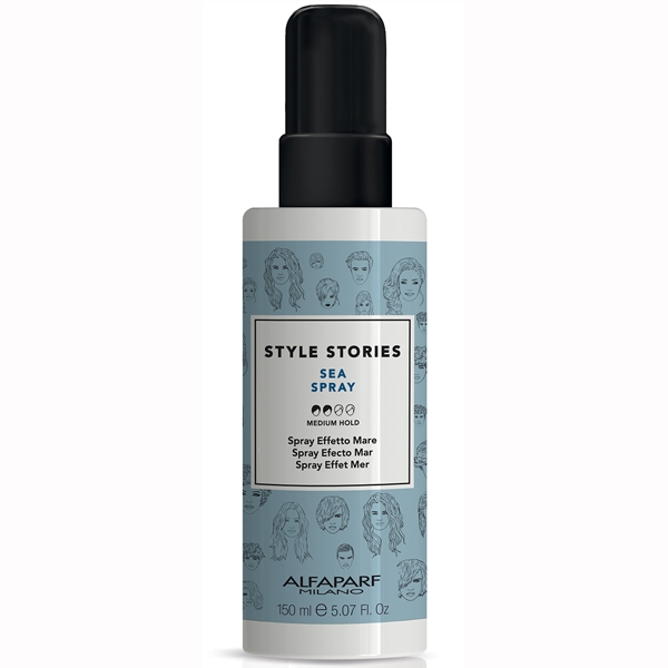 Spray de par cu efect marin Alfaparf Style Stories Sea Spray, 150 ml 0