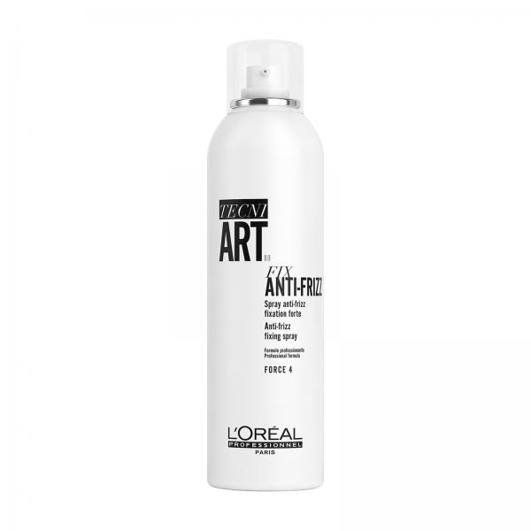 Spray fixativ pentru anti-umiditate cu fixare puternica L`Oreal Professionnel Tecni.ART Fix Anti-Frizz, 400 ml 0
