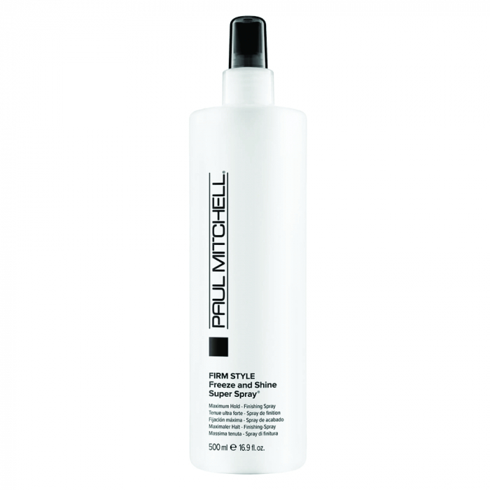 Spray pentru fixare si stralucire Paul Mitchell Freeze & Shine, 250 ml [0]