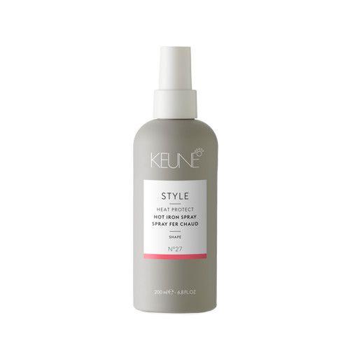 Spray pentru protectie termica Keune Style Hot Iron Spray, 200 ml 0
