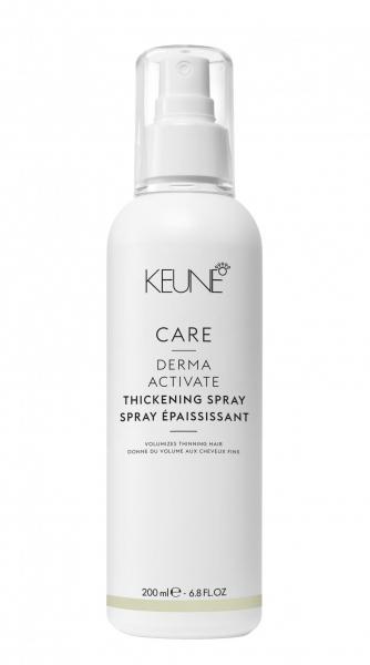 Spray pentru volum fara clatire Keune Care Derma Activate Thickening , 200 ml 0