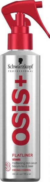 Spray ser pentru protectie termica Schwarzkopf OSIS+ Flatliner 200 ml 1