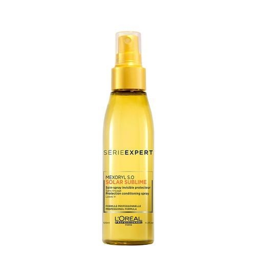 Spray tratament protector pentru par expus la soare  L`Oreal Professionnel Serie Expert Solar Sublime Spray Invisible Protector, 125 ml 0
