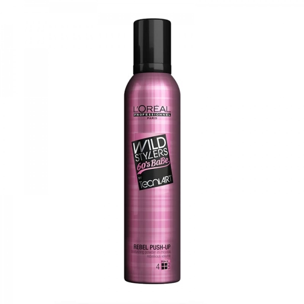 Spuma de par pentru texturizare L`Oreal Professionnel Tecni.ART Rebel Push Up, 250 ml 0