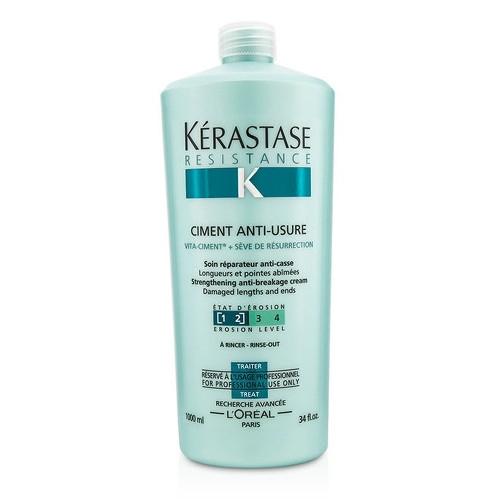 Tratament crema pentru par degradat Kerastase Resistence Force Architecte Ciment Antiusure, 1000 ml [1]