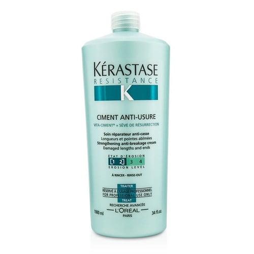 Tratament crema pentru par degradat Kerastase Resistence Force Architecte Ciment Antiusure, 1000 ml [0]