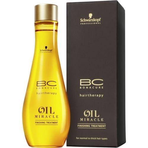 Tratament pentru finisare Schwarzkopf Bonacure Oil Miracle 100 ml 0