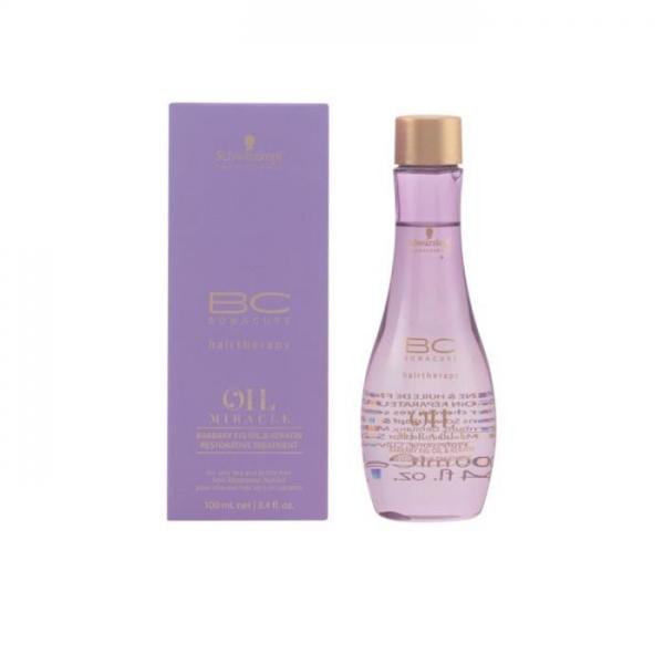 Tratament pentru par uscat si degradat cu ulei de fruct de cactus  Schwarzkopf Bonacure Oil Miracle Barbary Fig Treatment, 100 ml 0
