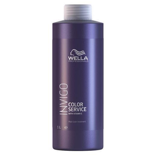 Tratament pentru par vopsit Wella Professionals Invigo Service Color Post Treatment, 1000 ml 0