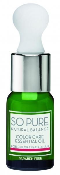 Ulei esential pentru ingrijirea parului colorat Keune So Pure Color Care, 10ml 0