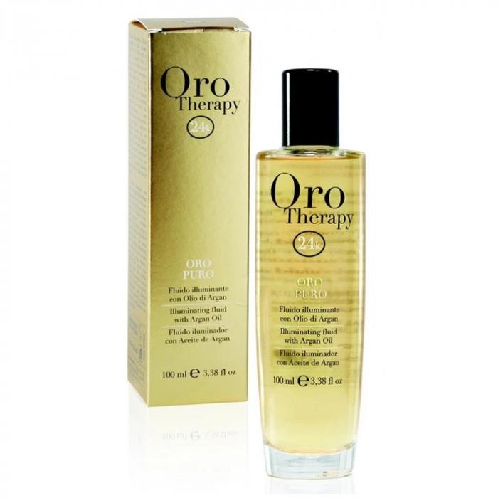 Ulei tratament de par cu ulei de argan Fanola Oro Therapy Argan Oil, 100ml [0]
