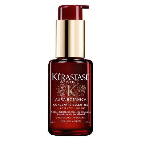 Ulei tratament pentru par lipsit de vitalitate Kerastase Aura Botanica Concentre Essentiel, 50 ml 0