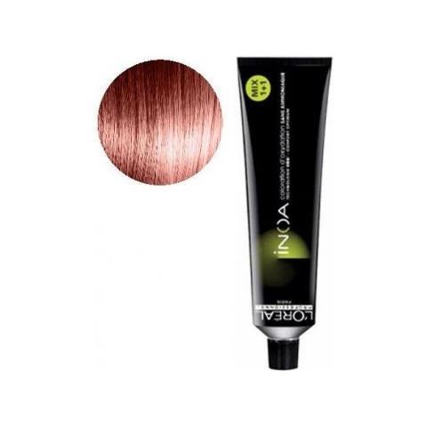 Vopsea de par permanenta fara amoniac L`Oreal Professionnel Inoa 6.45, Blond Mahon Cupru Inchis, 60 ml [0]