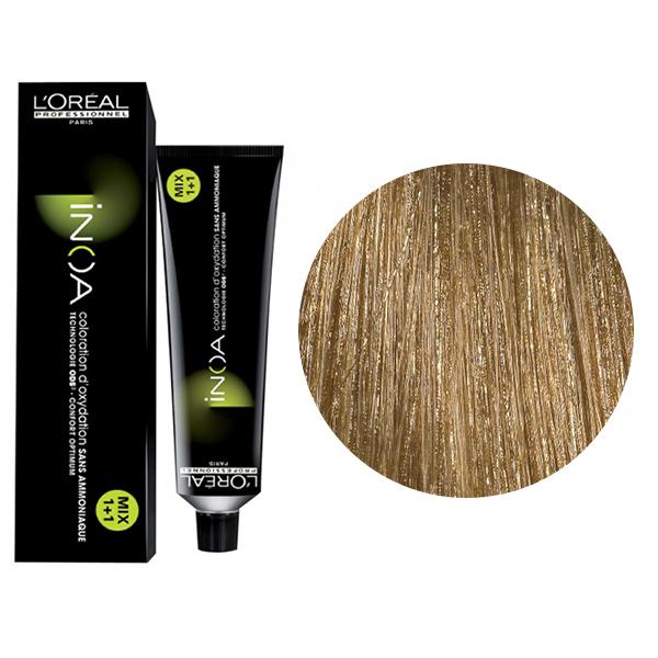 Vopsea de par permanenta fara amoniac L`Oreal Professionnel Inoa 8.31, Blond Auriu Foarte Deschis, 60 ml 0