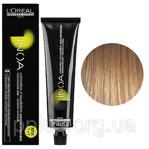 Vopsea de par permanenta fara amoniac L`Oreal Professionnel Inoa 9.2, Blond Foarte Deschis Iridescent, 60 ml 0