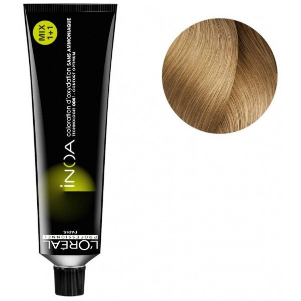 Vopsea de par permanenta fara amoniac L`Oreal Professionnel Inoa 9.31, Blond Auriu Foarte Deschis, 60 ml 0