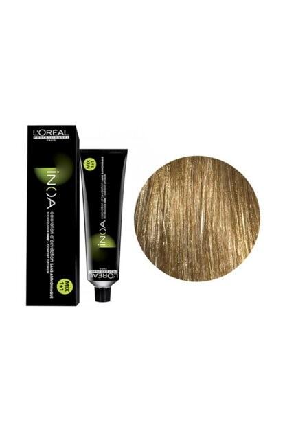 Vopsea de par permanenta fara amoniac L`Oreal Professionnel Inoa Blond Resist 9.13, Blond Bej Foarte Deschis, 60 ml [0]