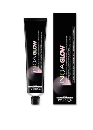 Vopsea de par permanenta fara amoniac L`Oreal Professionnel Inoa Glow Dark Base 1, 60 ml [0]