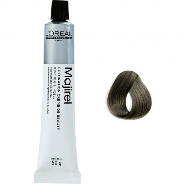 Vopsea de par permanenta L`Oreal Professionnel Majirel 7.11, Blond natural cenusiu profund, 50 ml 0