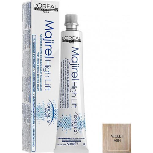 Vopsea de par permanenta L`Oreal Professionnel Majirel High Lift, Violet Ash, 50 ml [0]