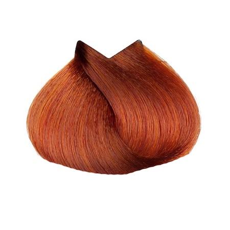 Vopsea de par permanenta L`Oreal Professionnel Majirel Majirouge Rubilane 7.45, Blond aramiu acaju, 50 ml 1