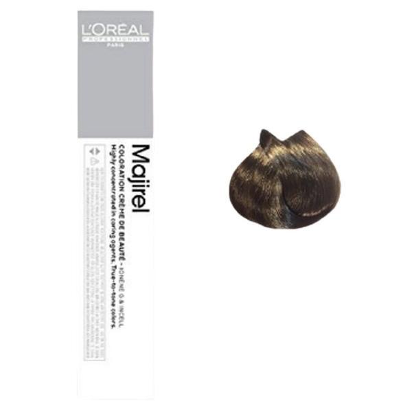 Vopsea de par permanenta L`Oreal Professionnel Majirel Ultra Naturale 6.0, Blond inchis profund, 50 ml [0]