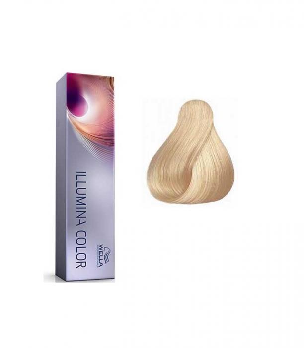 Vopsea de par permanenta Wella Professionals Illumina Color 10/1, 60 ml [0]