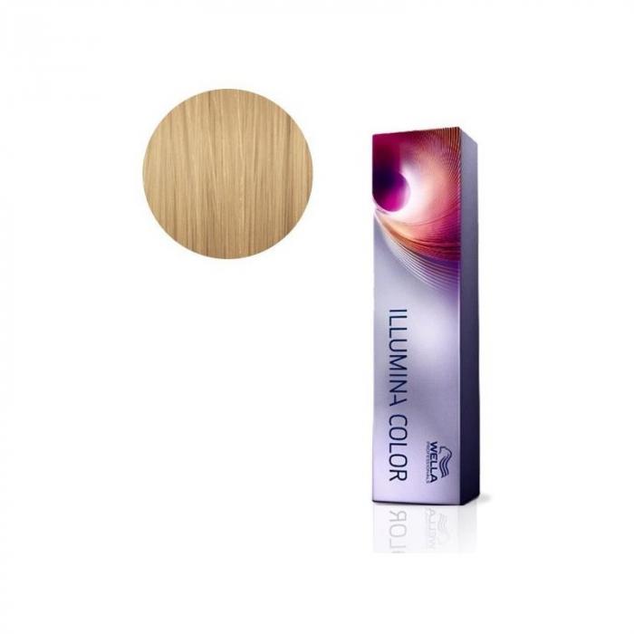 Vopsea de par permanenta Wella Professionals Illumina Color 10/36, 60 ml [0]