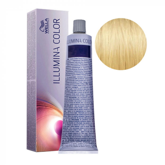 Vopsea de par permanenta Wella Professionals Illumina Color 10/38, 60 ml 0