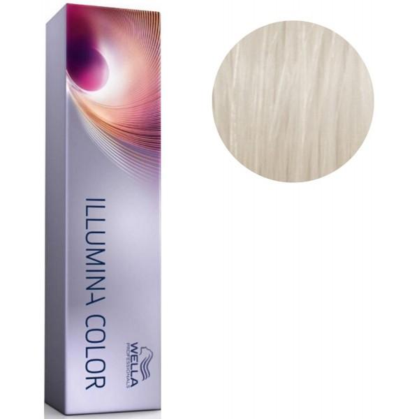 Vopsea de par permanenta Wella Professionals Illumina Color 10/69, 60 ml [0]