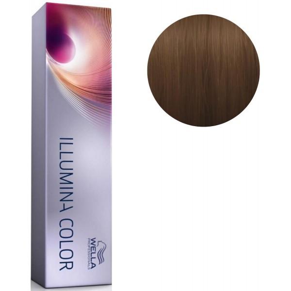 Vopsea de par permanenta Wella Professionals Illumina Color 6/37, 60 ml [0]