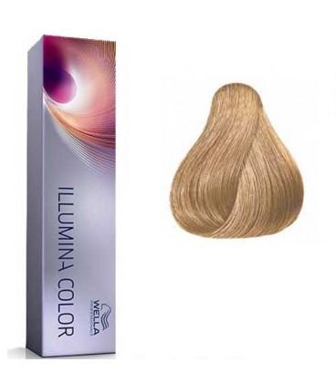 Vopsea de par permanenta Wella Professionals Illumina Color 8/38, 60 ml 0