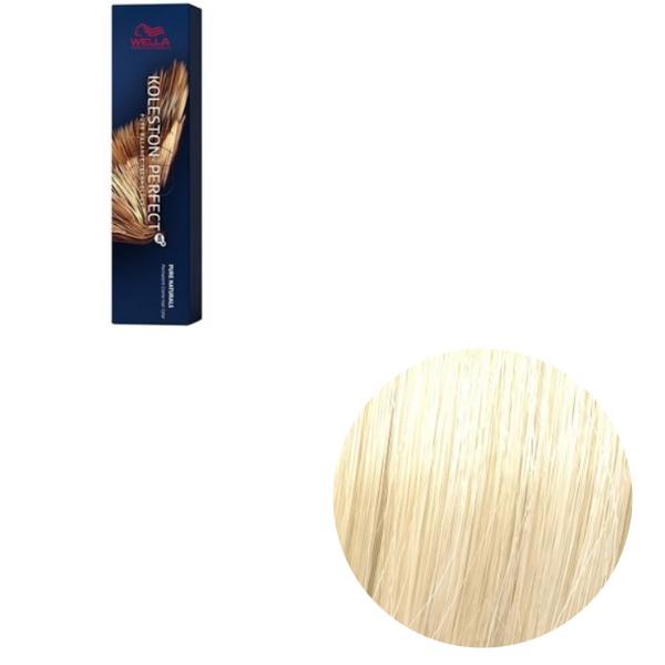 Vopsea de par permanenta Wella Professionals Koleston Perfect Me+ 10/0 , Blond Luminos Deschis Natural, 60 ml 0