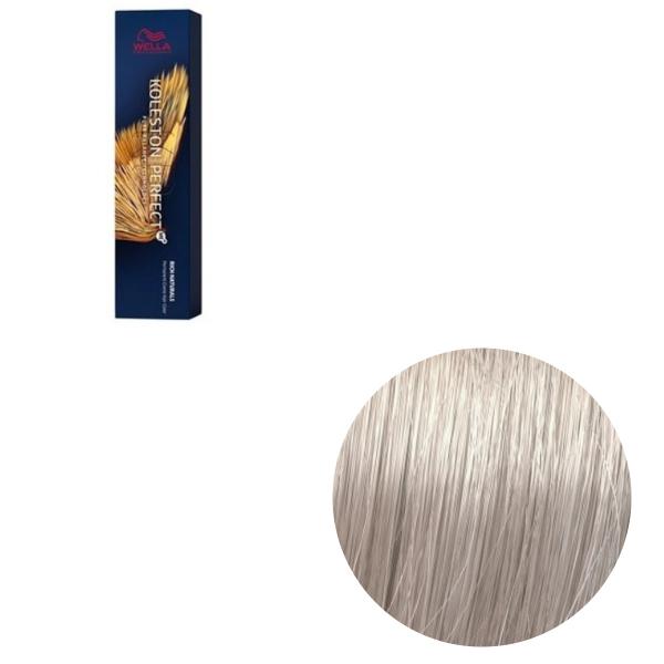 Vopsea de par permanenta Wella Professionals Koleston Perfect Me+ 10/16 , Blond Luminos Deschis Cenusiu Violet, 60 ml 0