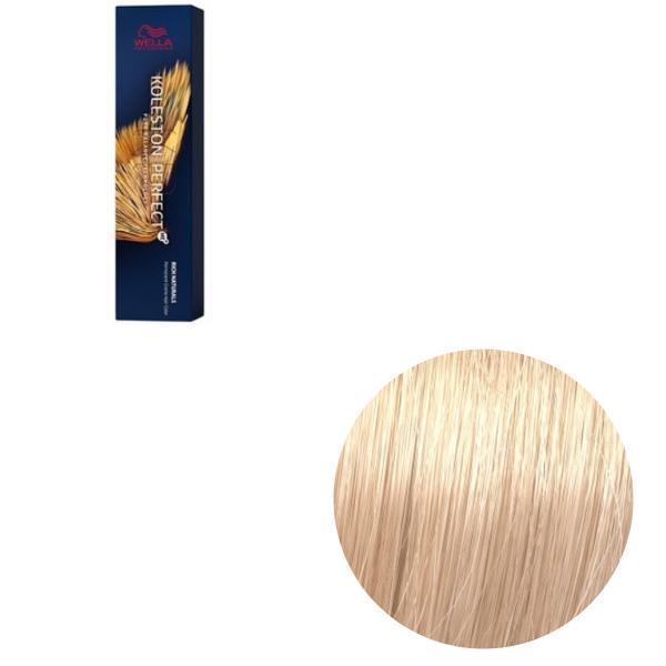 Vopsea de par permanenta Wella Professionals Koleston Perfect Me+ 10/31 , Blond Luminos Deschis Auriu Cenusiu, 60 ml [0]
