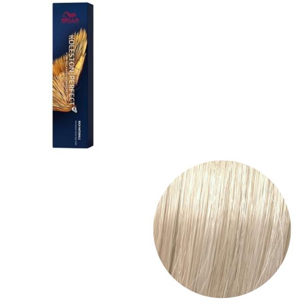 Vopsea de par permanenta Wella Professionals Koleston Perfect Me+ 10/38 , Blond Luminos Deschis Auriu Albastrui, 60 ml [0]
