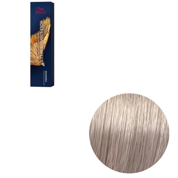 Vopsea de par permanenta Wella Professionals Koleston Perfect Me+ 10/8 , Blond Luminos Deschis Albastrui, 60 ml 0