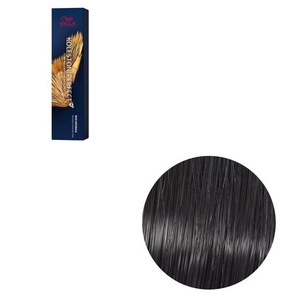 Vopsea de par permanenta Wella Professionals Koleston Perfect Me+ 2/8 , Negru Albastrui, 60 ml 0
