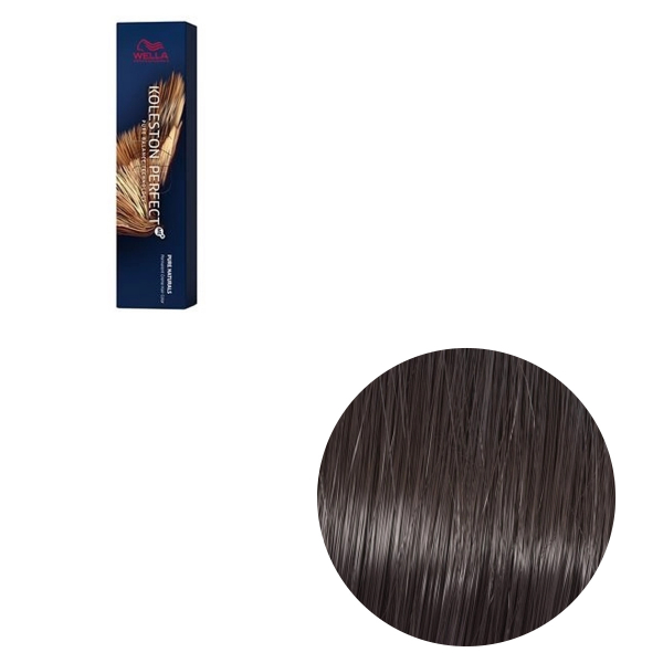 Vopsea de par permanenta Wella Professionals Koleston Perfect Me+ 4/00 , Castaniu Mediu Natural Intens, 60 ml 0