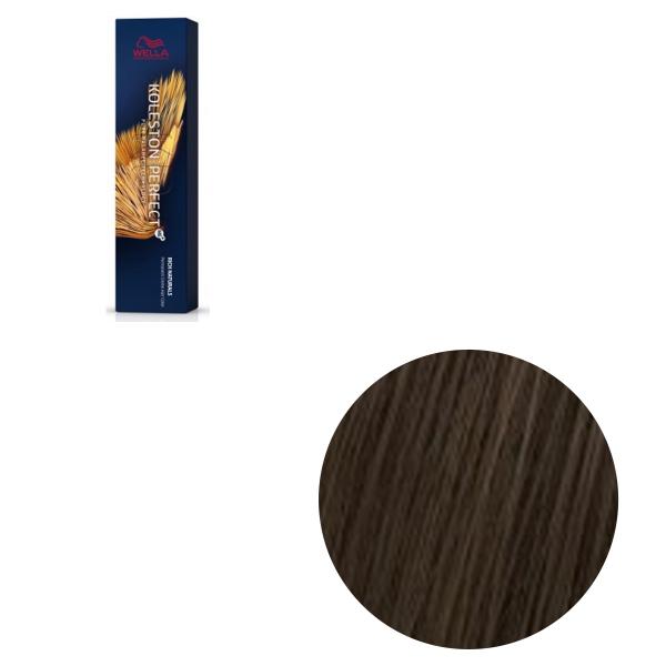 Vopsea de par permanenta Wella Professionals Koleston Perfect Me+ 4/3 , Castaniu Mediu Auriu, 60 ml [0]