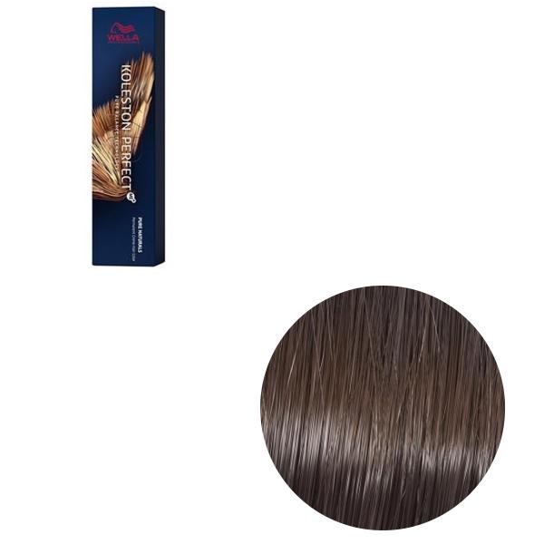 Vopsea de par permanenta Wella Professionals Koleston Perfect Me+ 5/00 , Castaniu Deschis Natural Intens, 60 ml [0]