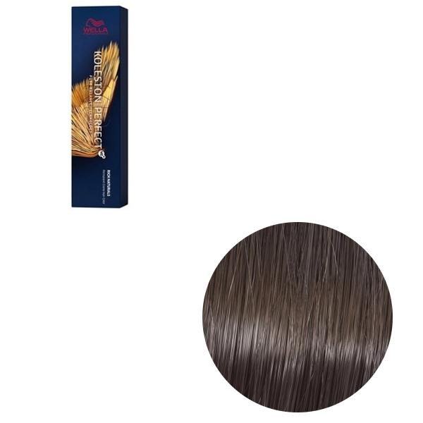 Vopsea de par permanenta Wella Professionals Koleston Perfect Me+ 6/1 , Blond Inchis Cenusiu, 60 ml 0