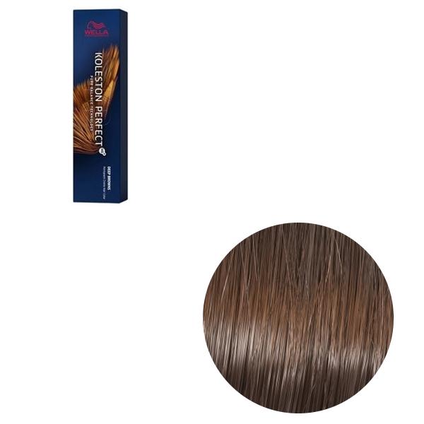 Vopsea de par permanenta Wella Professionals Koleston Perfect Me+ 6/73 , Blond Inchis Castaniu Auriu, 60 ml 0