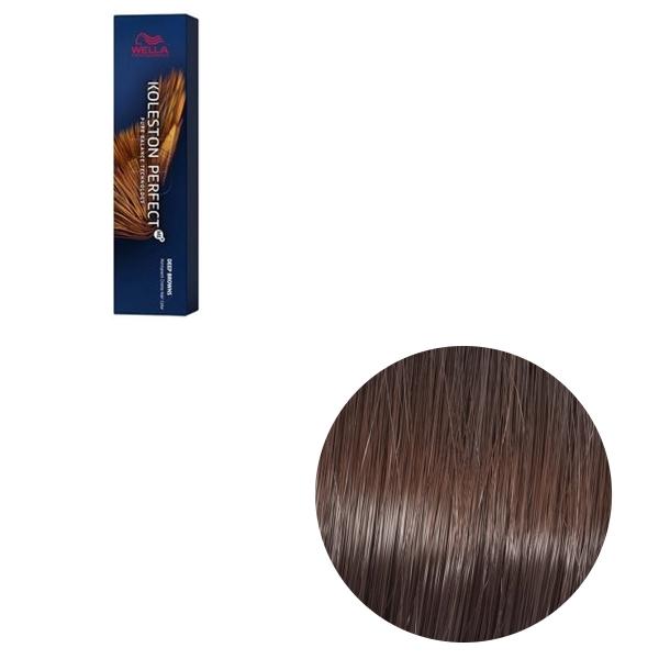 Vopsea de par permanenta Wella Professionals Koleston Perfect Me+ 6/77 , Blond Inchis Castaniu Intens, 60 ml 0