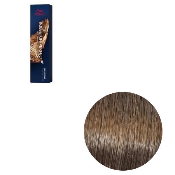 Vopsea de par permanenta Wella Professionals Koleston Perfect Me+ 7/01, Blond Mediu Natural Cenusiu, 60 ml 0