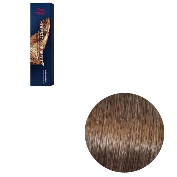 Vopsea de par permanenta Wella Professionals Koleston Perfect Me+ 7/07 , Blond Mediu Natural Castaniu, 60 ml [0]